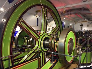 Machinery at Tower Bridge