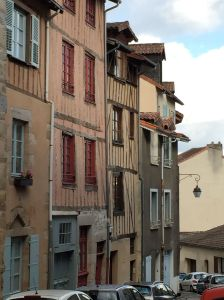 old street in limoges