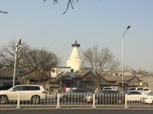 Datiaoye Hutong across Zhaodengyu Road